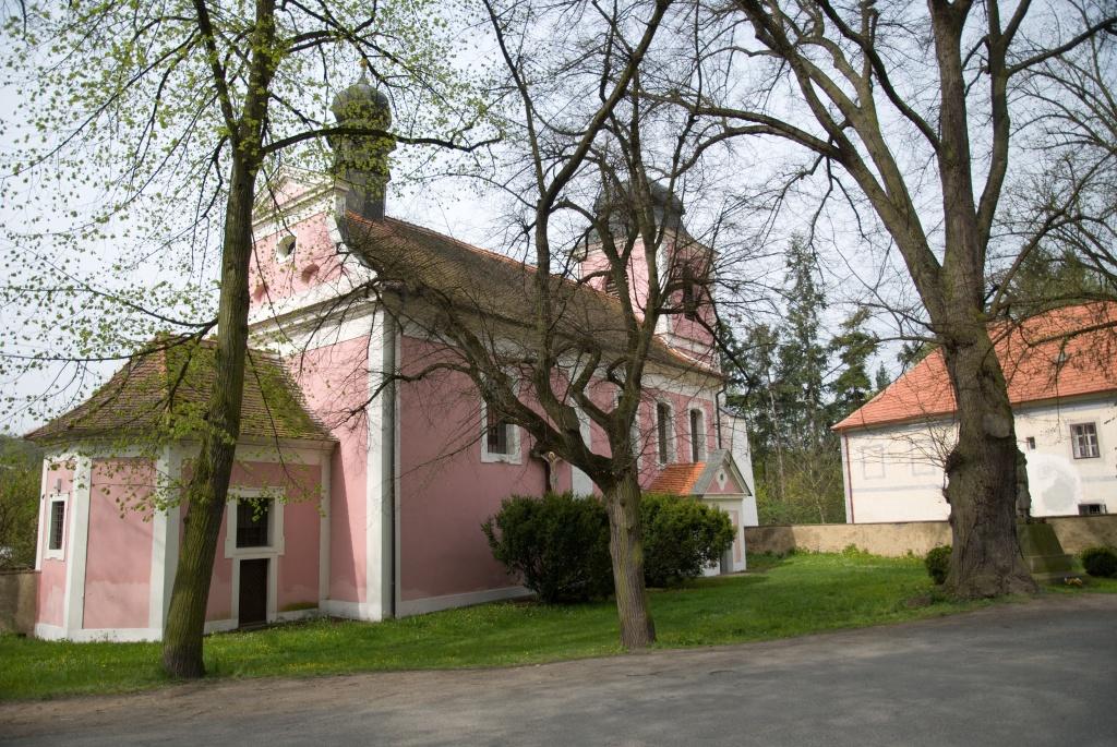 Zbečno kostel sv.Martina